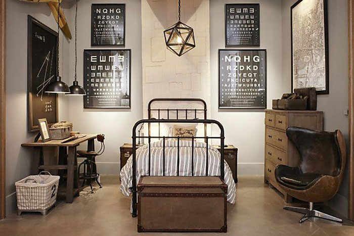 Attirant 69800283959 Ideas For Designing Your Bedroom In An Industrial Style