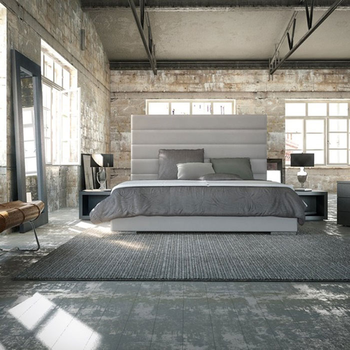 Ideas For Designing Your Bedroom In An Industrial Style Simple Industrial Bedroom Design Ideas