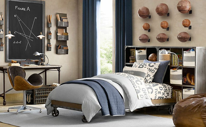 69800481385 Ideas For Designing Your Bedroom In An Industrial Style