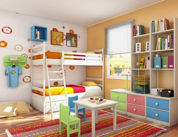 Kids Rooms Interior Design Ideas 30. Kids Rooms Designs And Ideas For Decorating Their Bedrooms