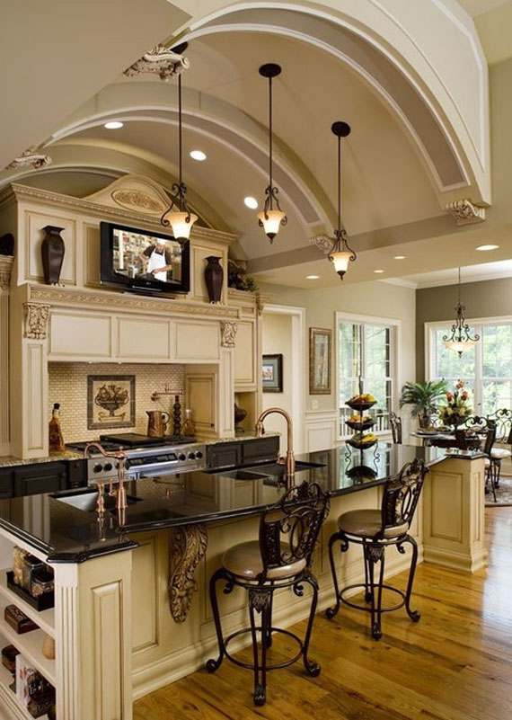 Modern And Traditional Kitchen Island Ideas You Should See 16