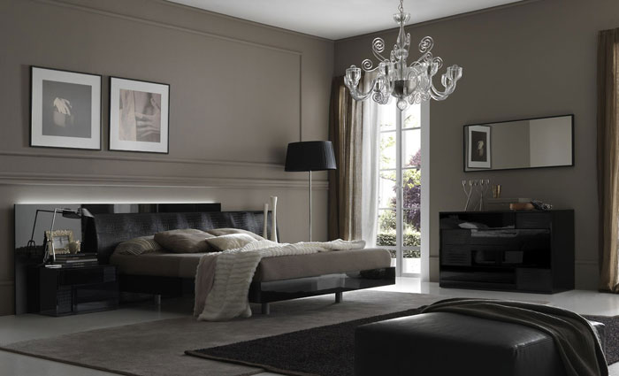 . Modern And Luxurious Bedroom Interior Design Is Inspiring