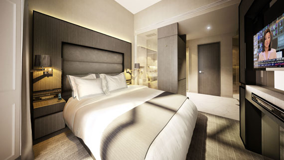 Luxurious Hotel Bedrooms That Will Simply Amaze You