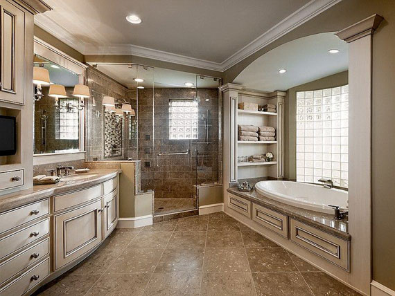 b5 luxurious master bathroom design ideas that you will love - Luxury Master Bathroom