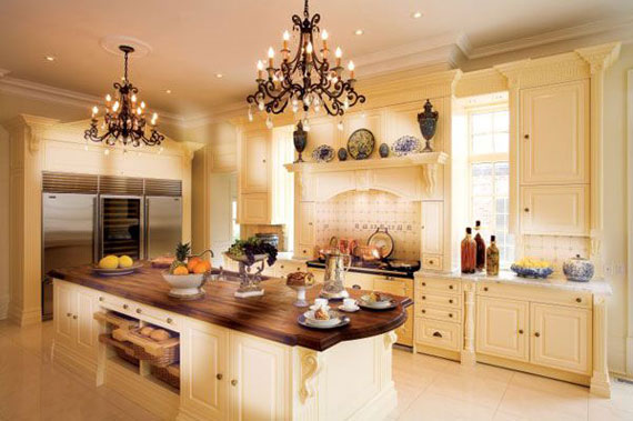 Large Luxury Kitchens Designs 38 Pictures
