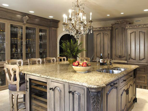 A18 Large Luxury Kitchens Designs (38 Pictures)