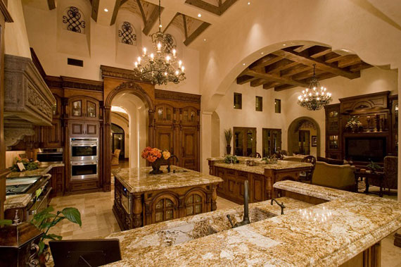 Pictures Of Beautiful Kitchens large luxury kitchens designs (38 pictures)