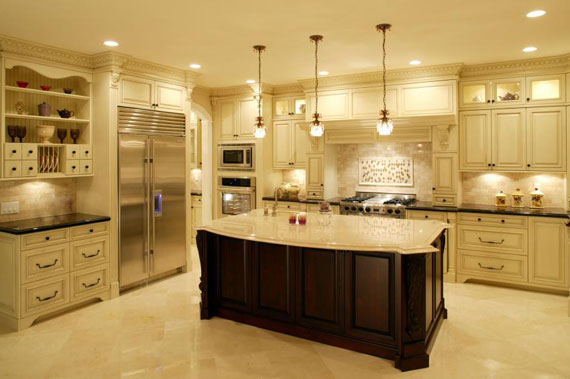 A28 Large Luxury Kitchens Designs (38 Pictures)