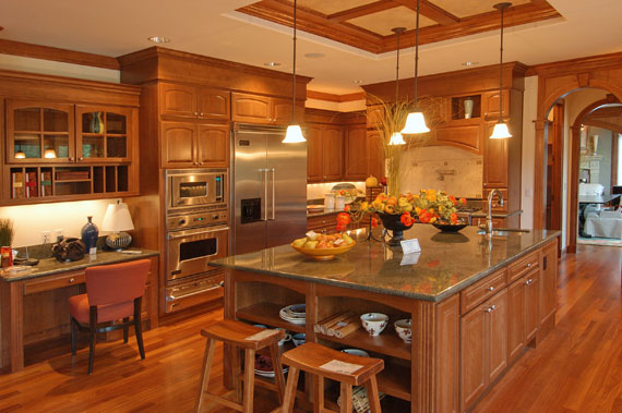 A30 Large Luxury Kitchens Designs (38 Pictures)