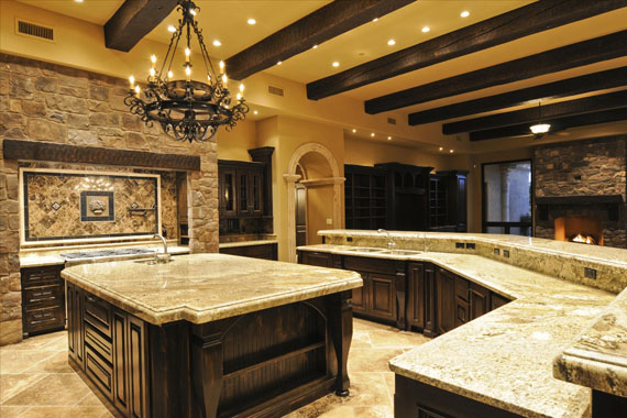Delicieux A6 Large Luxury Kitchens Designs (38 Pictures)