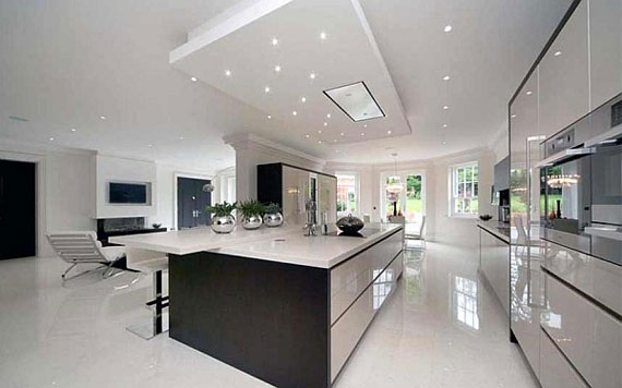 Superior A8 Large Luxury Kitchens Designs (38 Pictures)