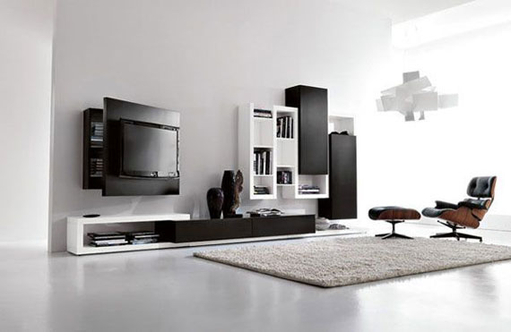 Black And White Living Room Furniture With How To