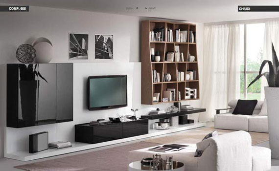 Modern Living Rooms Clean