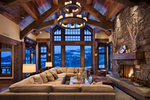 Mh1 Log Cabin Interior Design: 47 Cabin Decor Ideas