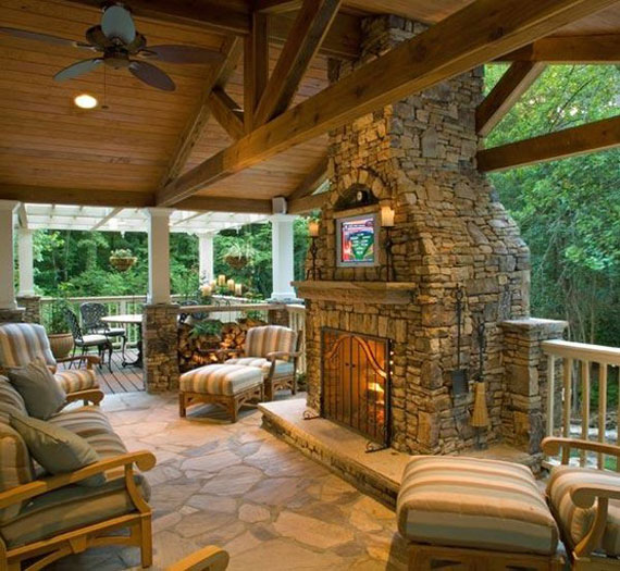 Mh Log Cabin Interior Design  Cabin Decor Ideas