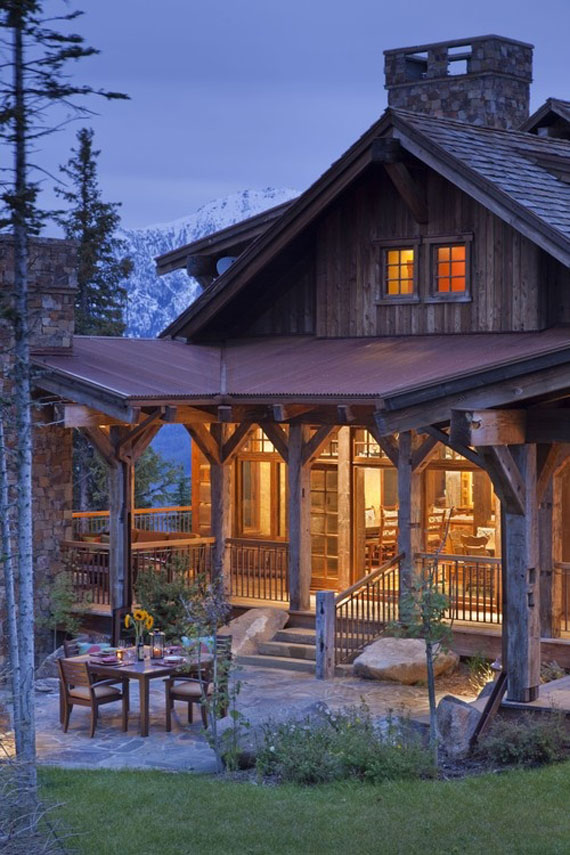 cabin design ideas inspiration mountain house architecture 19 - Log Cabin Design Ideas