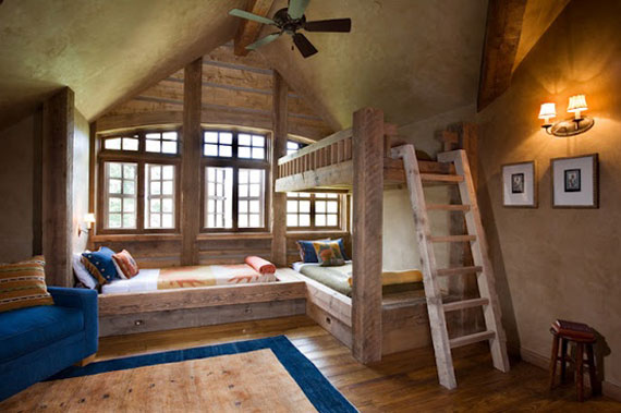mountain decorating log maries decor retreat rustic bedrooms theme cabins cabin bear style manor ideas