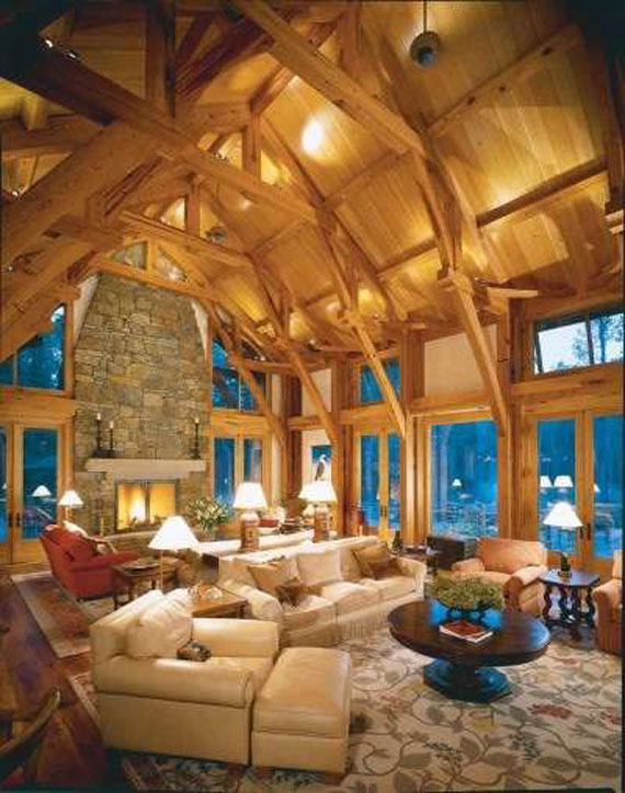Wonderful Mh23 Log Cabin Interior Design: 47 Cabin Decor Ideas