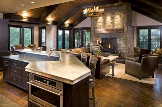 cabin design ideas inspiration mountain house architecture 26 - Cabin Interior Design Ideas