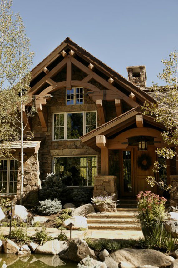 Beautiful Mountain House Design Ideas Pictures Amazing Interior