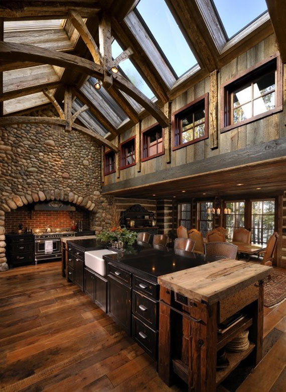 Pleasant Cabin Design Ideas For Inspiration 40 Mountain Houses Largest Home Design Picture Inspirations Pitcheantrous