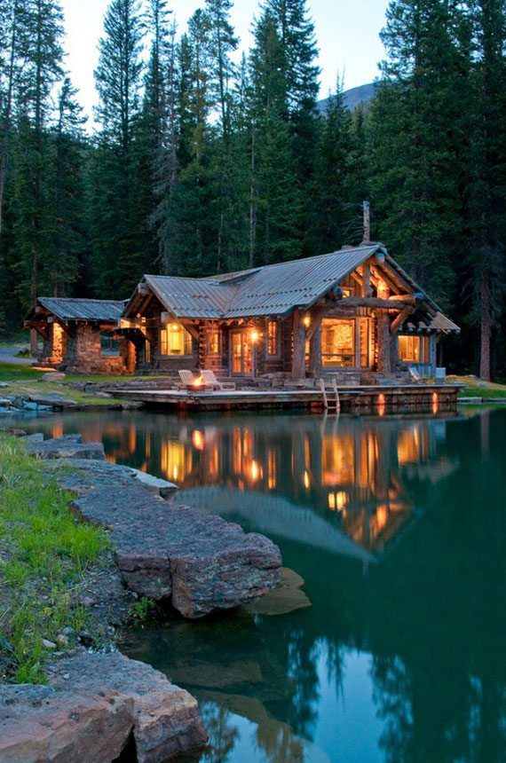 Mh33 Log Cabin Interior Design 47 Decor Ideas