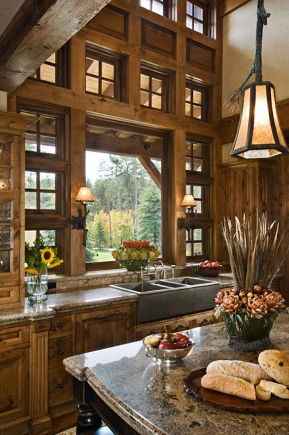 cabin design ideas inspiration mountain house architecture 37 - Cabin Interior Design Ideas