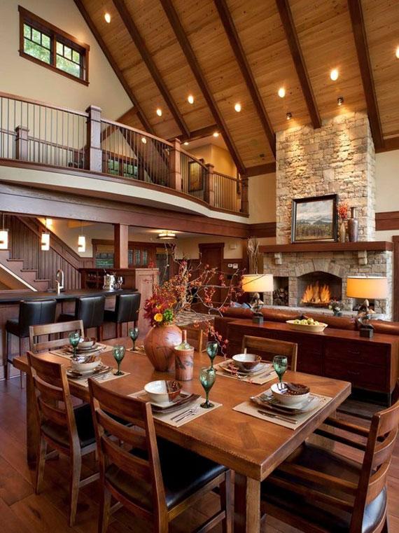 Mh38 Log Cabin Interior Design: 47 Cabin Decor Ideas