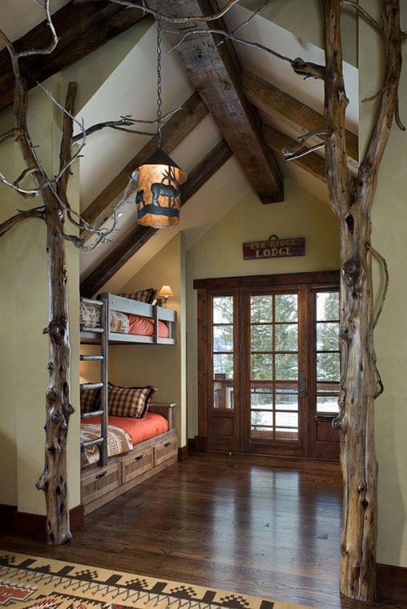 mh4 Log Cabin Interior Design: 47 Cabin Decor Ideas