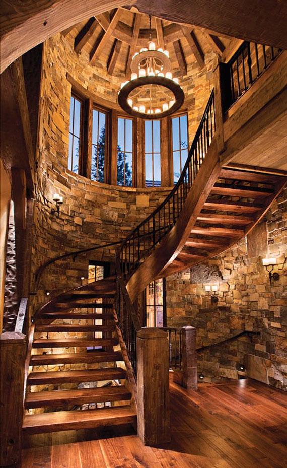 cabin design ideas for inspiration 40 mountain houses - Cabin Interior Design Ideas