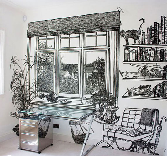 wallpaper mural designs to give you ideas for your house s walls