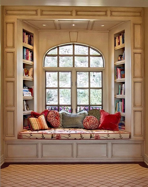n40 A Collection Of Nook Window Seat Design Ideas