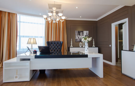Great C1 Simple And Classy Office Interiors With Modern Influences