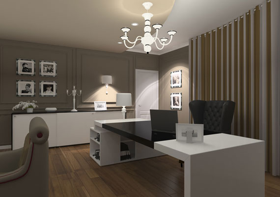 C13 Simple And Classy Office Interiors With Modern Influences