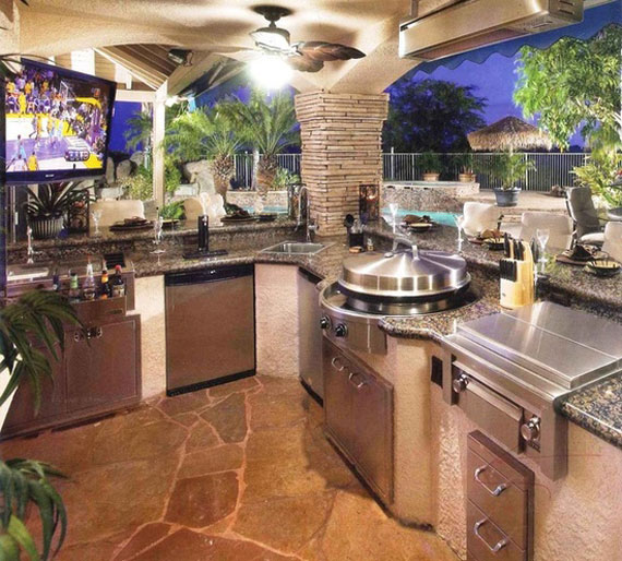 o17 Summer Kitchen Design Ideas (50 Pictures)