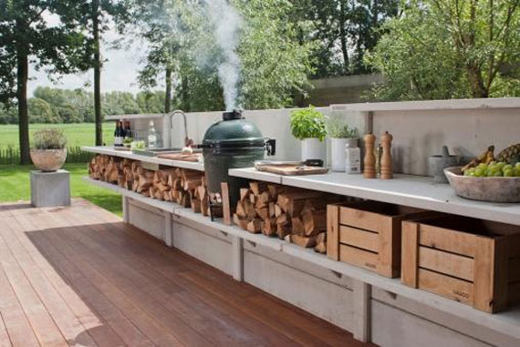 Summer Kitchen Design Ideas (50 Pictures)