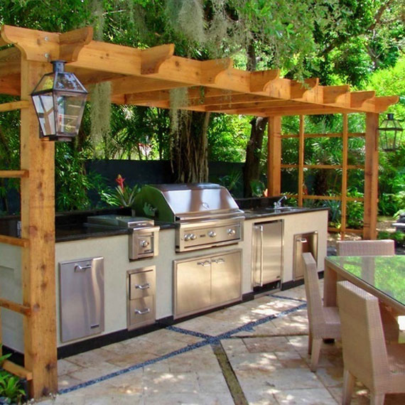 O5 Summer Kitchen Design Ideas (50 Pictures)