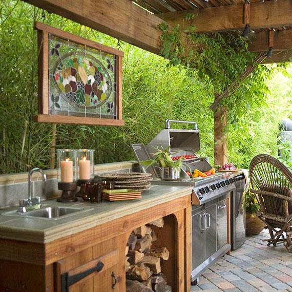 O7 Summer Kitchen Design Ideas (50 Pictures)