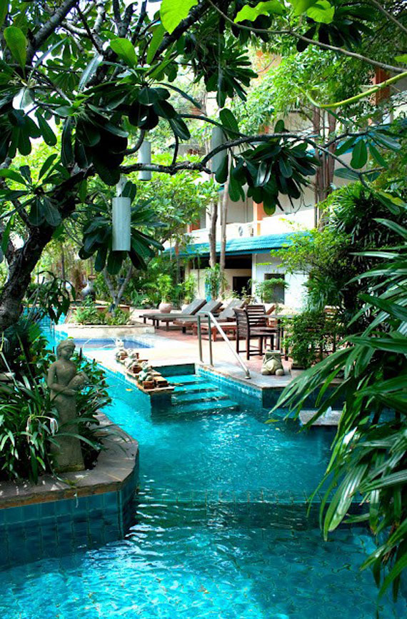 Hotel outdoor pool design  Outdoor Pool Designs That You Would Wish They Were Yours