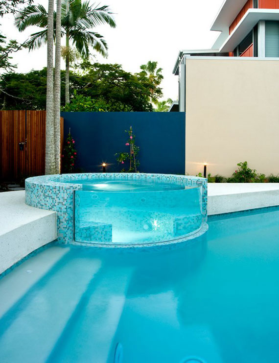 pool designs with spa. pool18 outdoor pool designs that you would wish they were around your house with spa