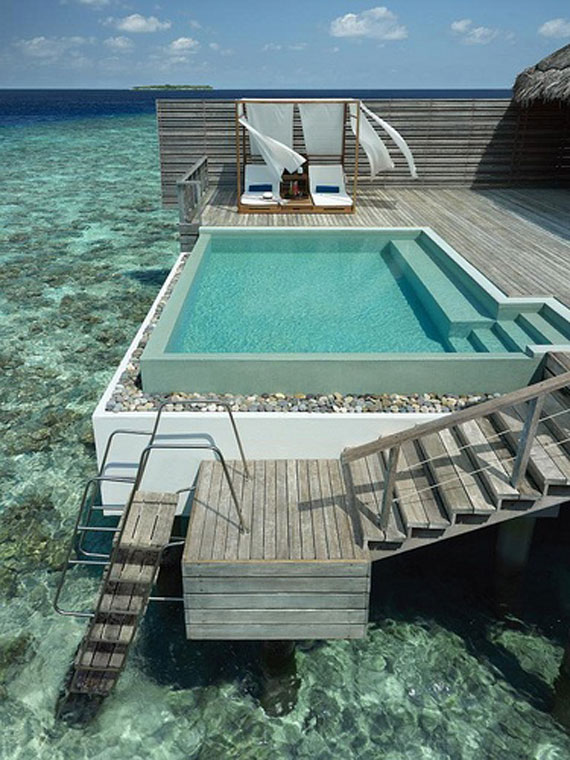 outdoor pool designs that you would wish they were around your house 2