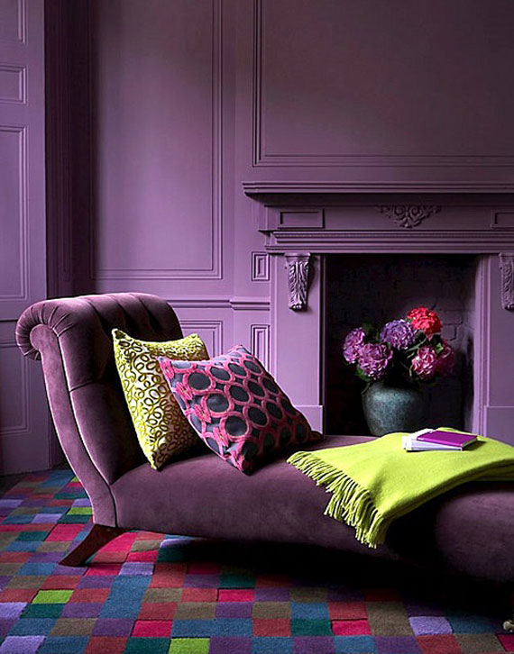 Violet Room Design: Best Purple Decor & Interior Design Ideas (56 Pictures