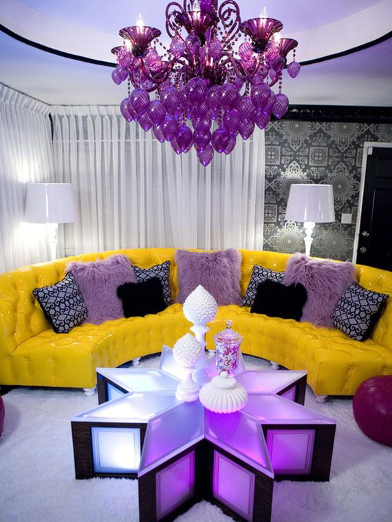 p12 Best Purple Decor & Interior Design Ideas (56 Pictures)