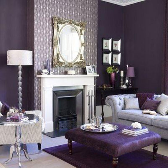 Best Purple Decor Interior Design Ideas 56 Pictures