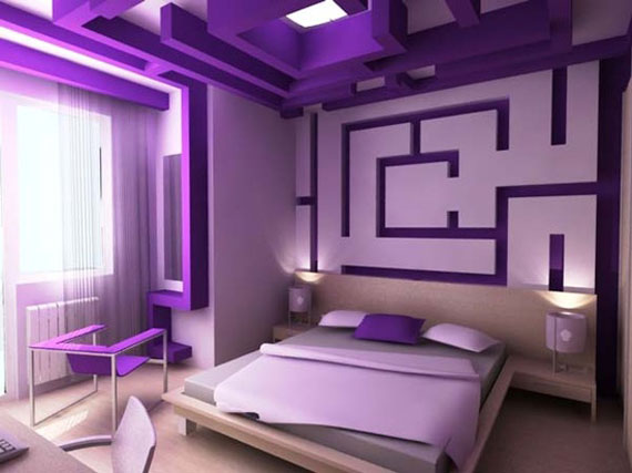 P34 Best Purple Decor Interior Design Ideas 56 Pictures