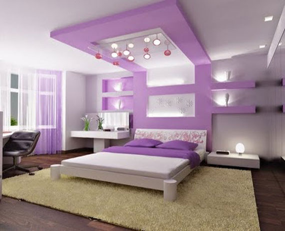 P37 Best Purple Decor Interior Design Ideas 56 Pictures