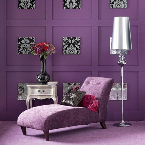 P40 Best Purple Decor U0026 Interior Design Ideas (56 Pictures)
