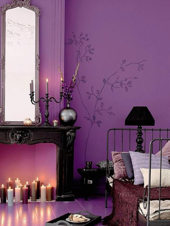 The Usage Of Purple In Interior Design 42