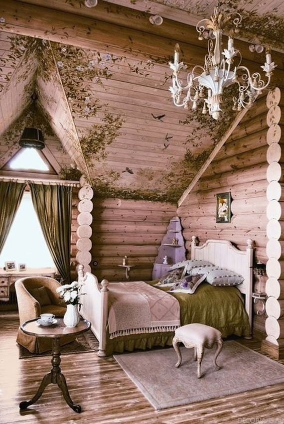r11 Beautiful Rustic Interior Design - 51 Pictures Of Bedrooms