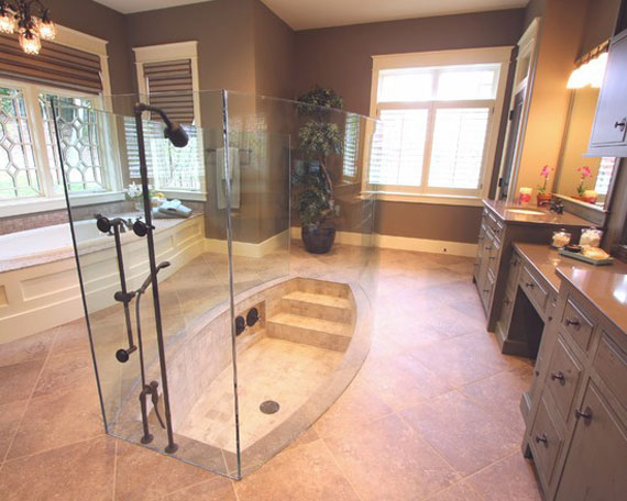interesting shower design ideas 33 photos 1